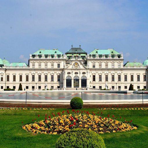 Austria-Vienna-Belvedere-Palace