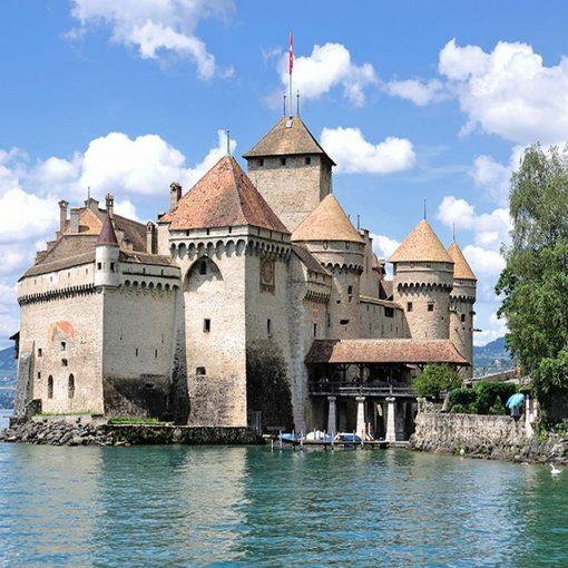 Switzerland-Chillon-Castle
