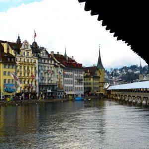 Switzerland-Lucerne-Chapel-Bridge