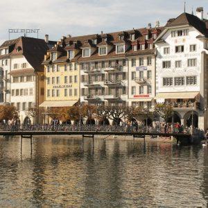 Switzerland-Lucerne-bridge-old-town