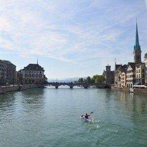 Switzerland-Zurich-Old-Town-bridge